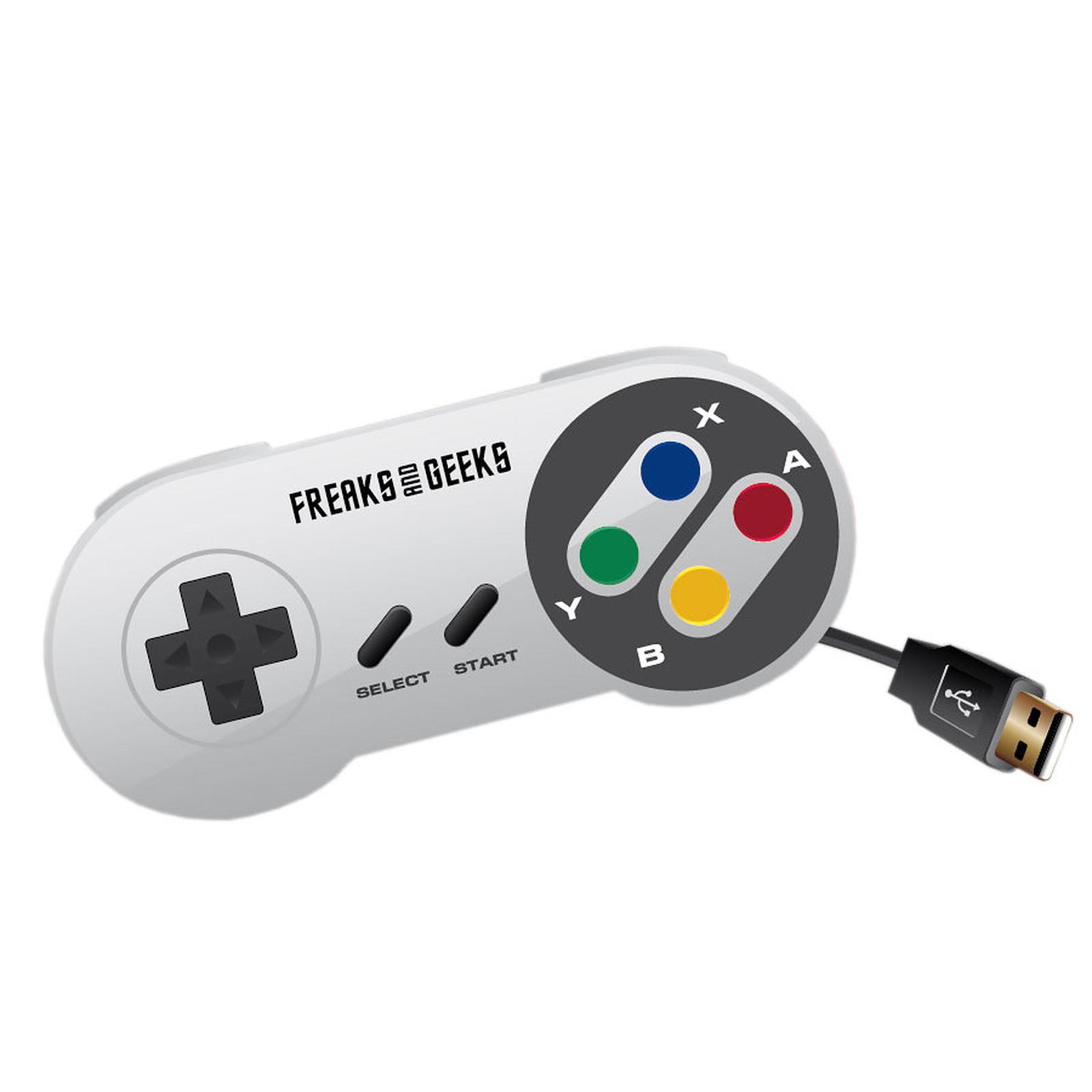 Manette USB pour rétrogaming (Nintendo Super NES)