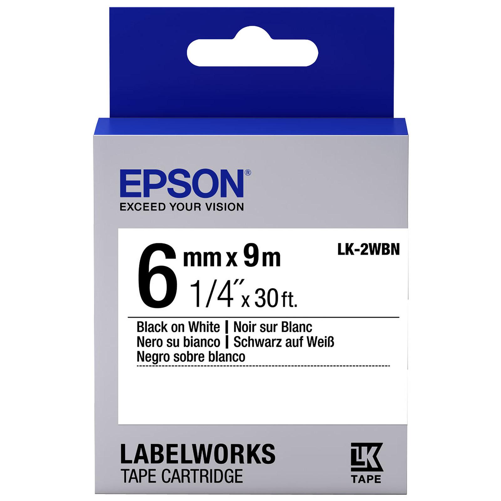 Epson LK-2WBN blanco/negro