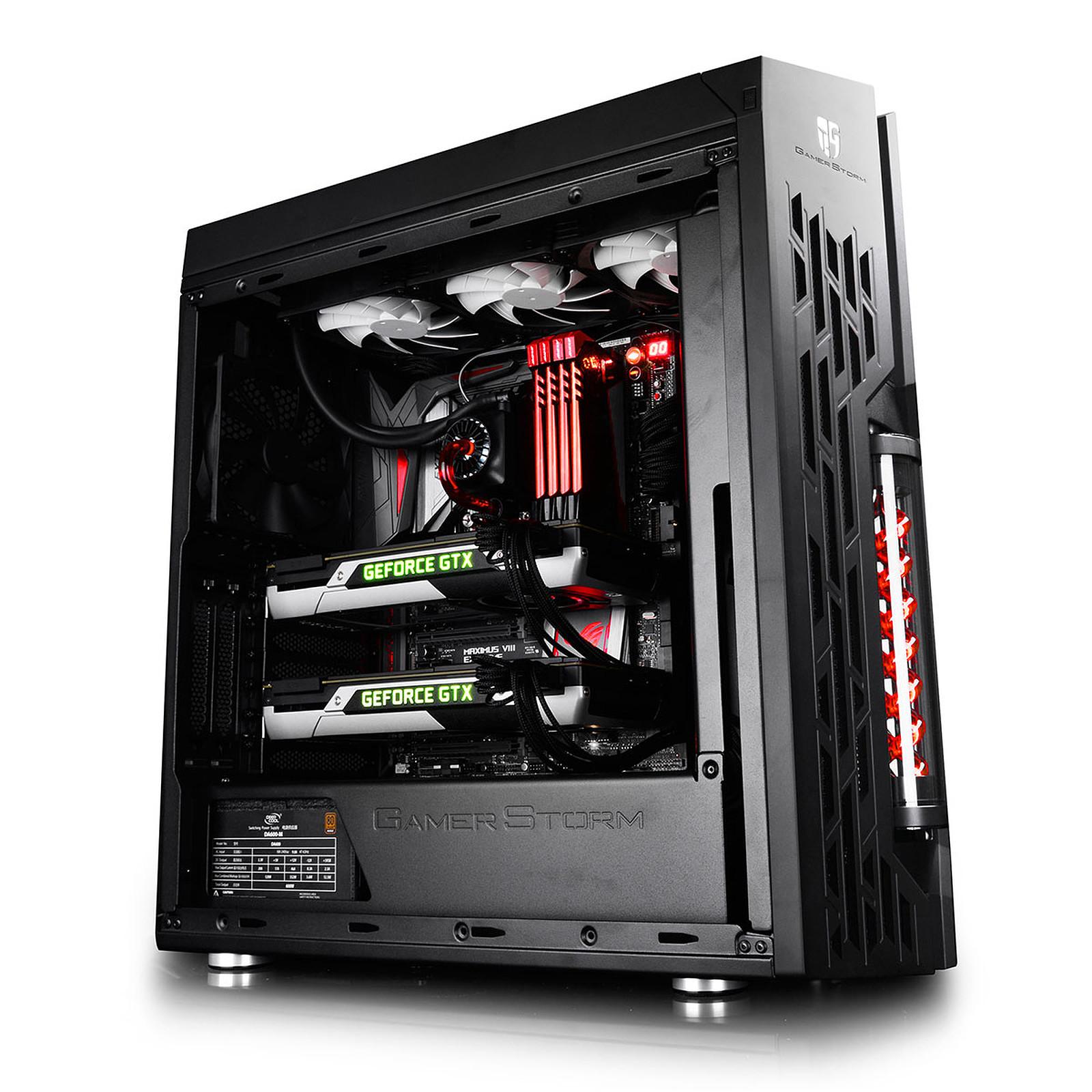 gamer storm genome ii rev 2 noir rouge bo tier pc gamer storm sur. Black Bedroom Furniture Sets. Home Design Ideas