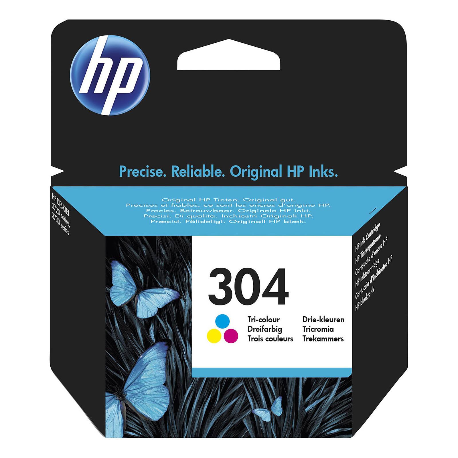 HP 304 Cyan, Magenta, Jaune (N9K05AE)