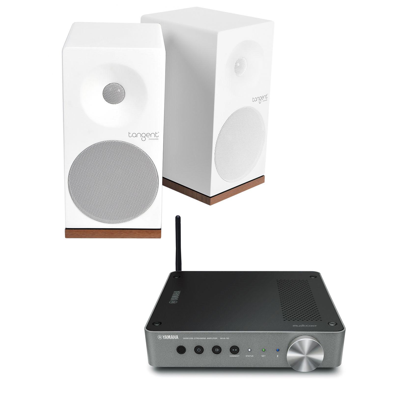 Yamaha MusicCast WXA-50 + Tangent Spectrum X5 Blanc