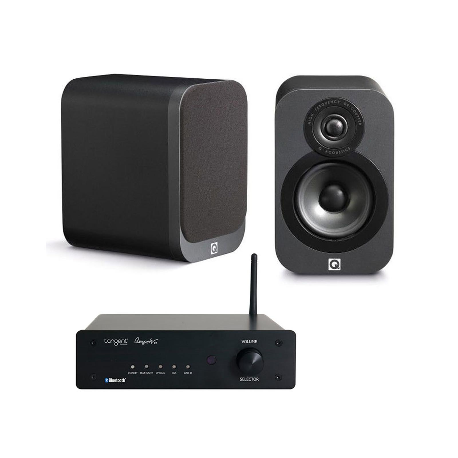Tangent Ampster BT + Q Acoustics 3010 Graphite