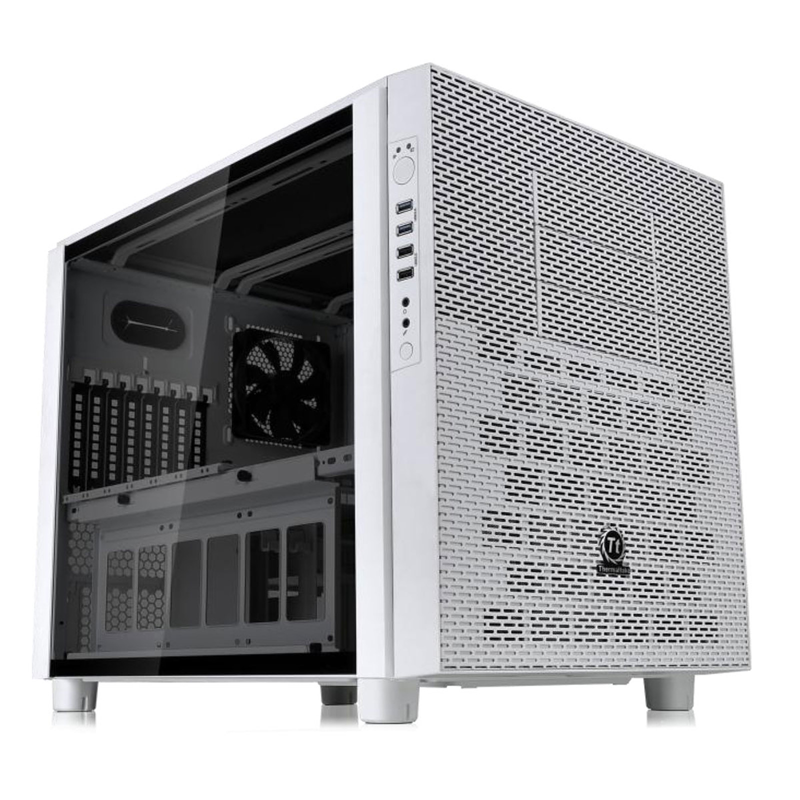 Thermaltake Core X5 Tempered Glass Edition - Snow