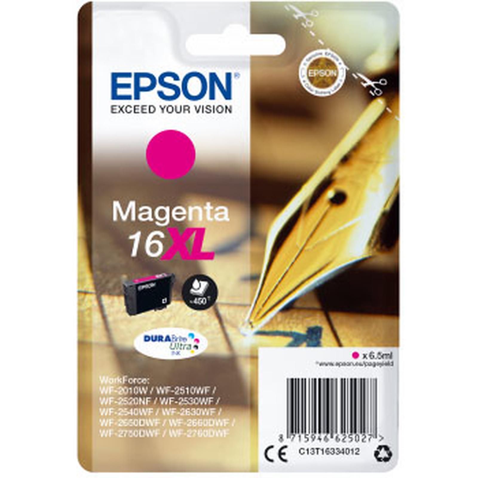 Epson Stylo à Plume 16 XL Magenta