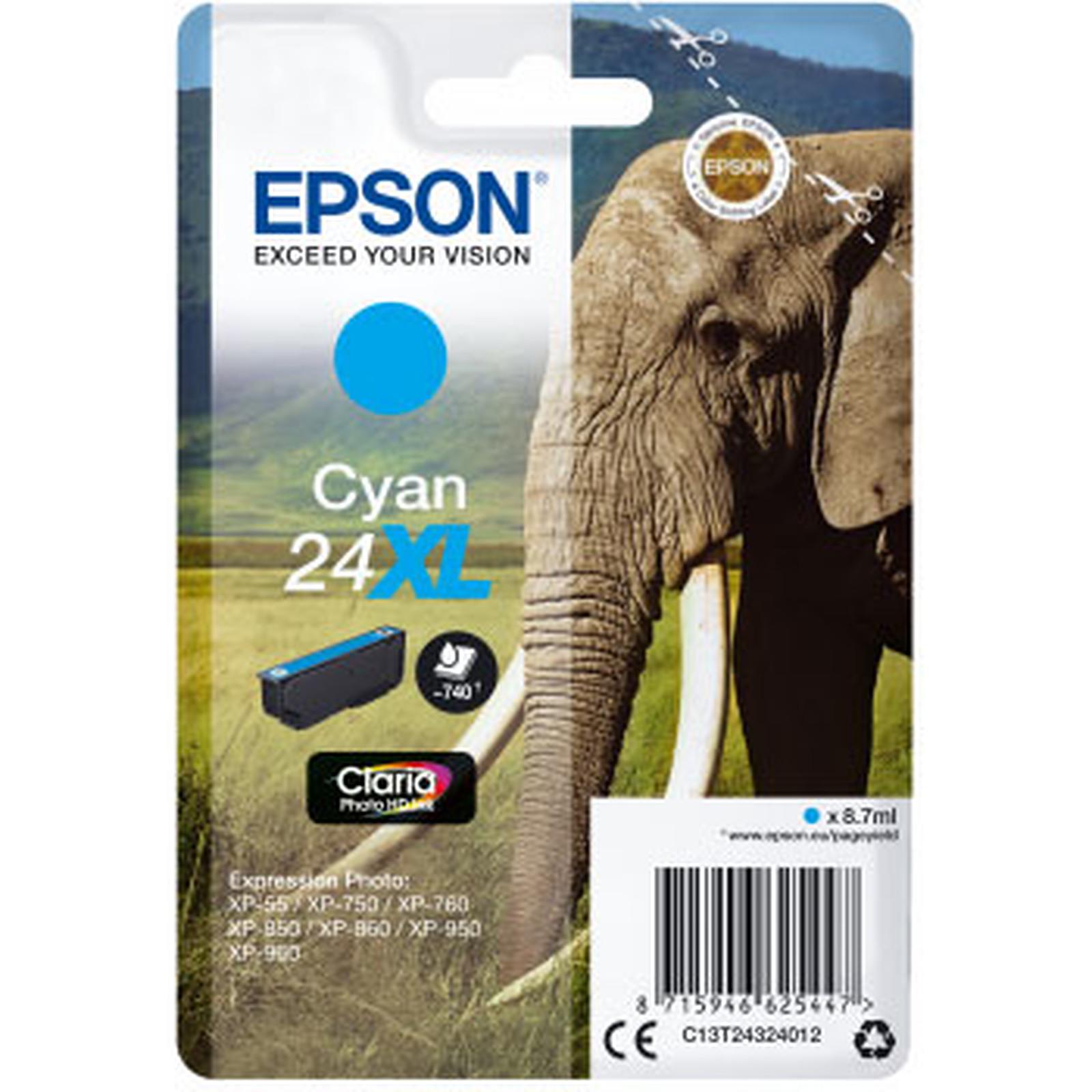Epson Elephant 24XL Cyan