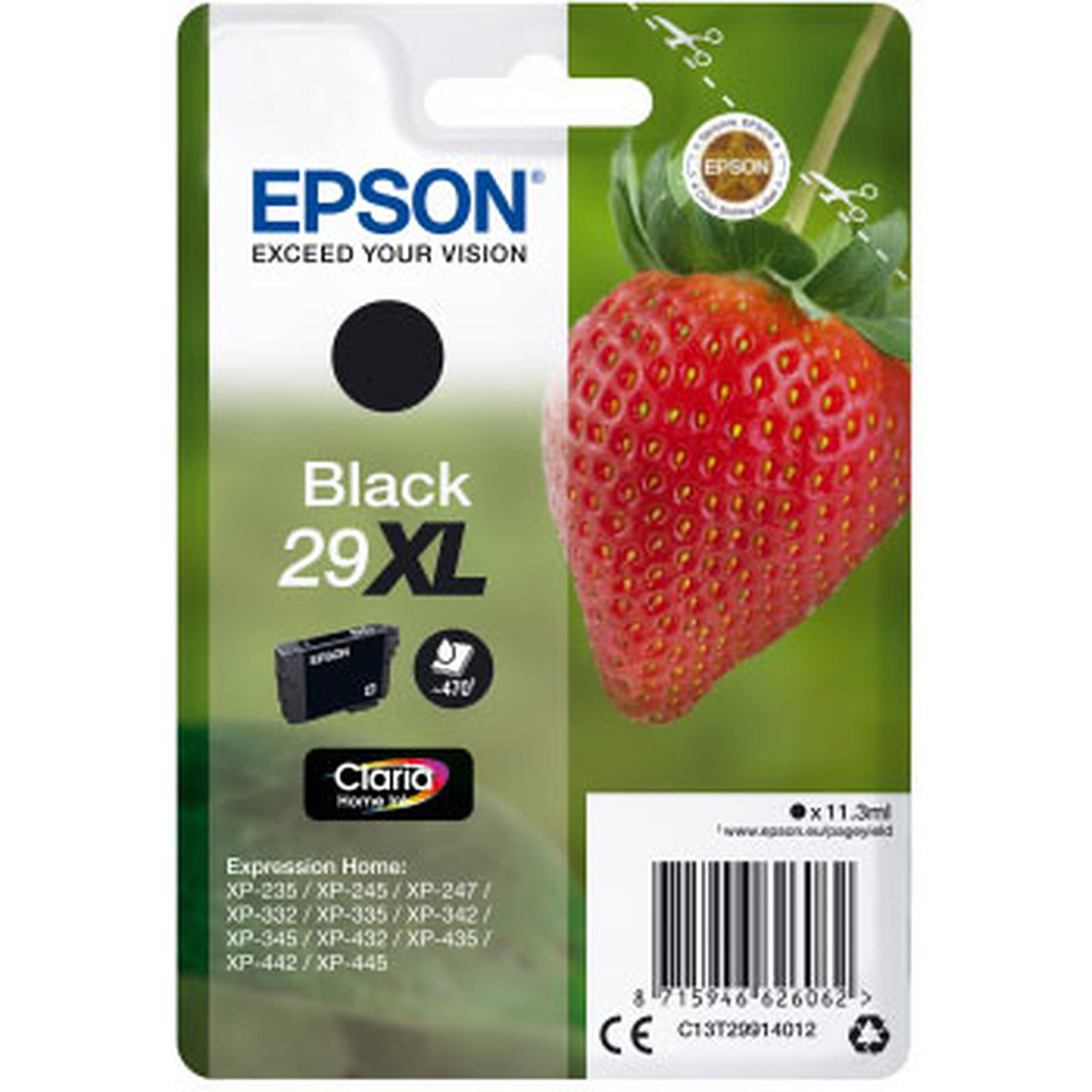 Epson Fraise 29XL Noir