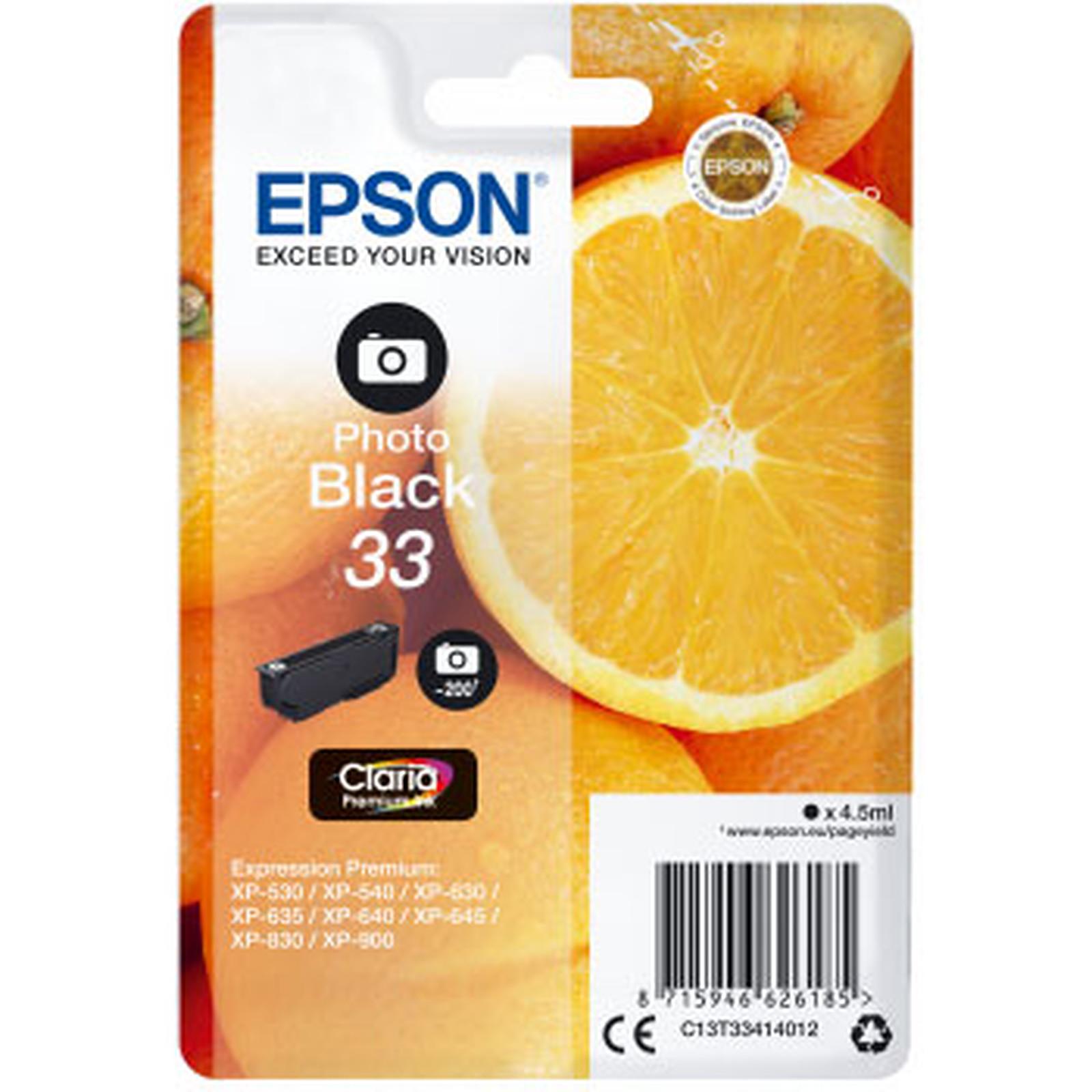 Epson Oranges 33 Noir Photo