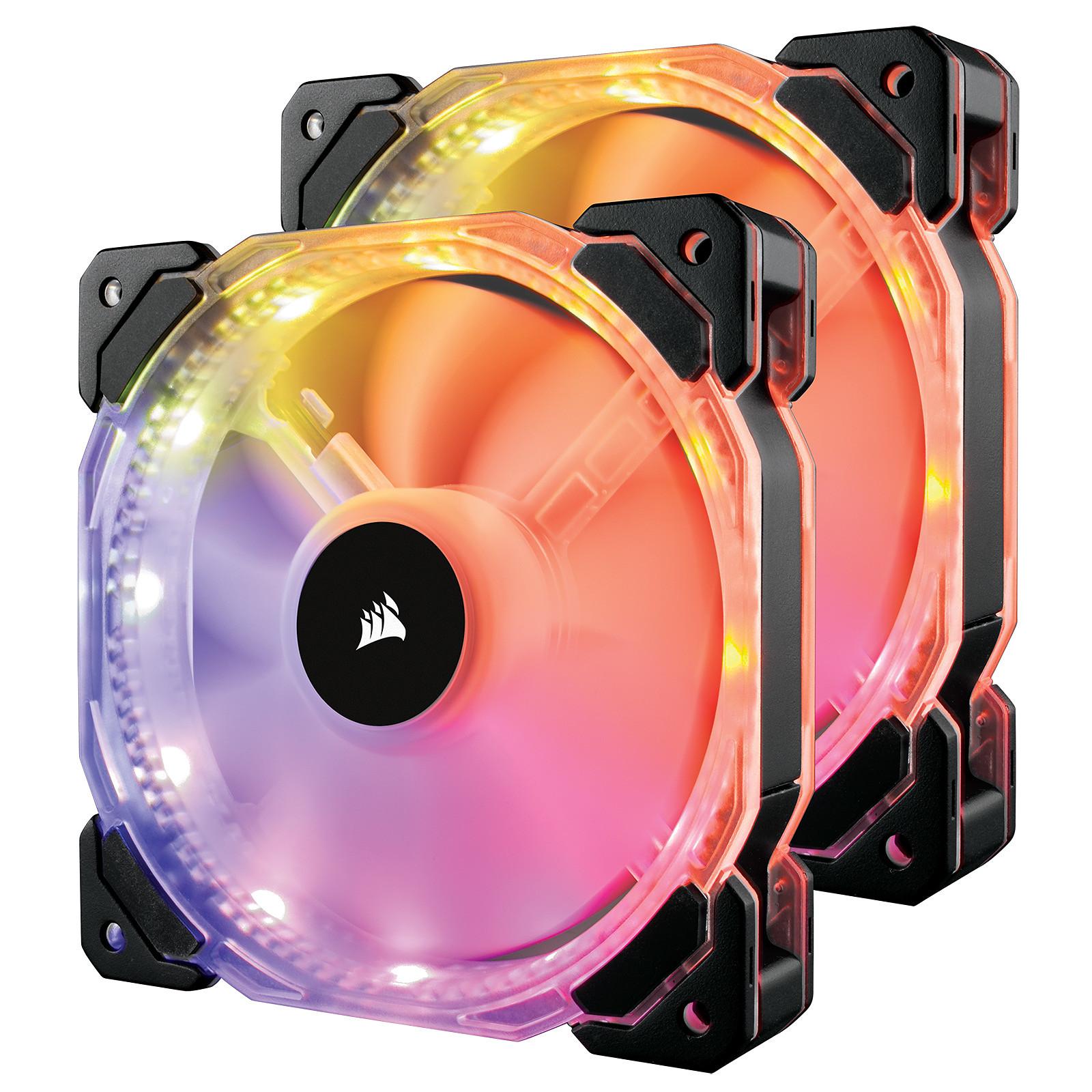 Corsair HD140 RGB LED High Performance with controller (par 2)