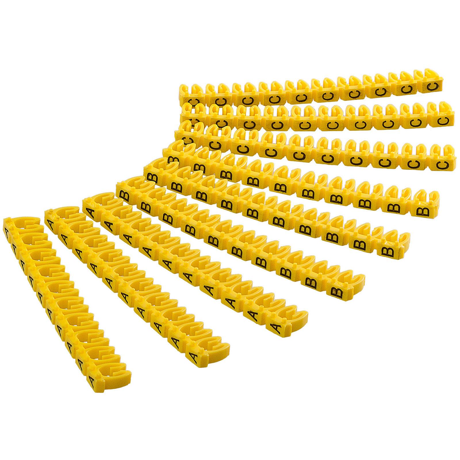 Goobay Clips pour câble 2.5 mm (A-C)