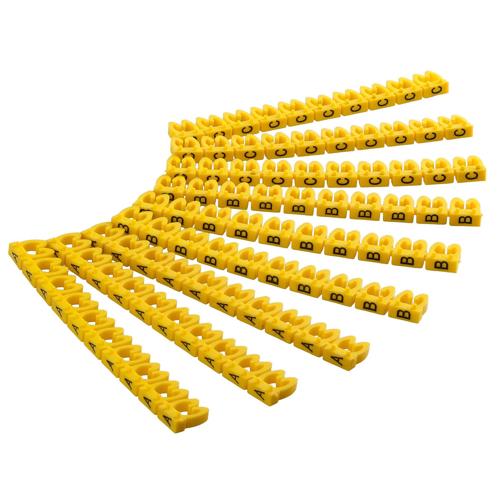 Goobay Clips pour câble 4 mm (A-C)