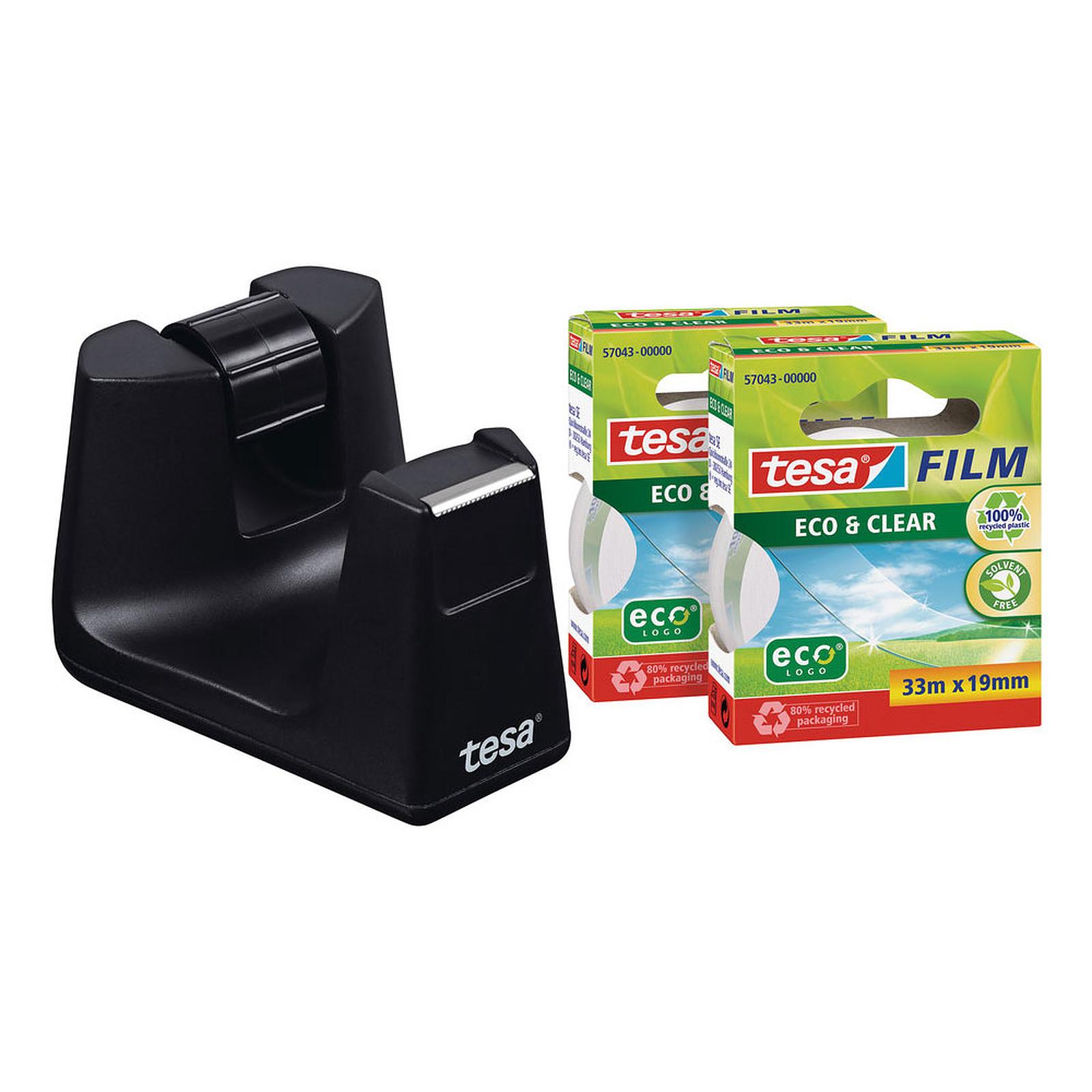 tesa Easy Cut Smart Noir + 2 rouleaux Eco & Clear