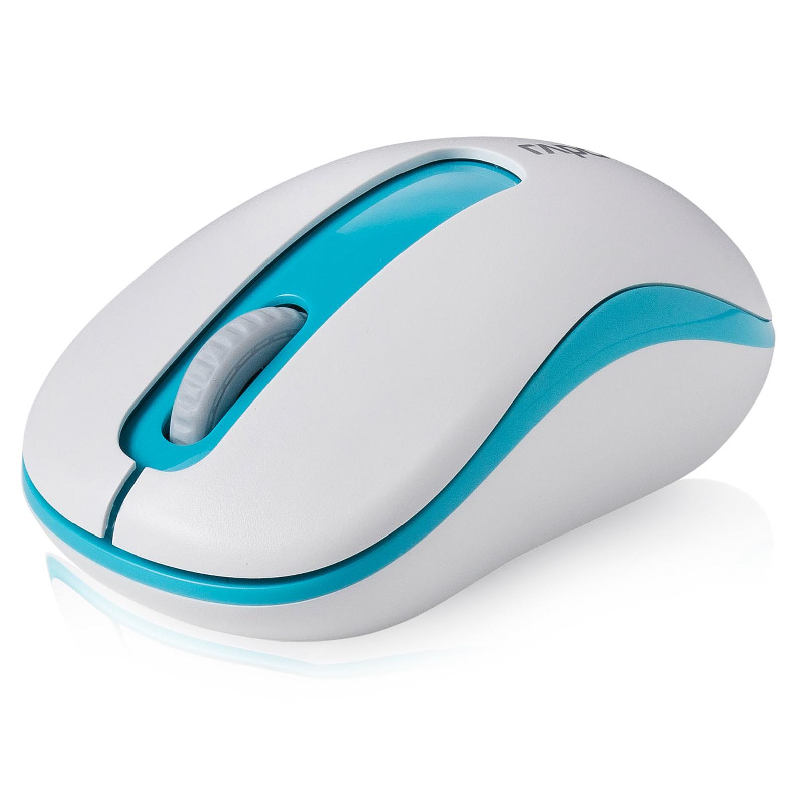 Rapoo M10+ (Blanc/Bleu)