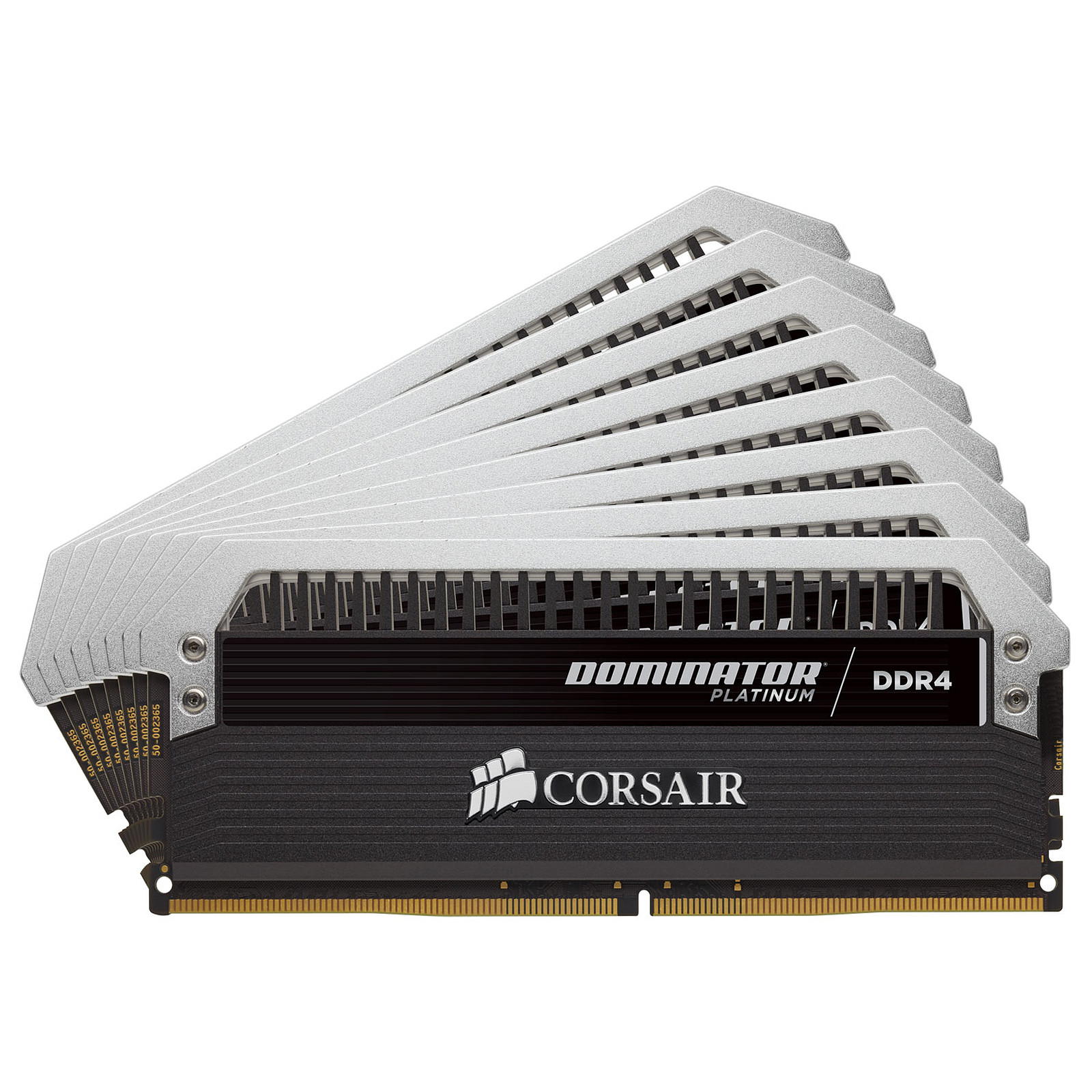 Corsair Dominator Platinum 64 Go (8x 8 Go) DDR4 3800 MHz CL19