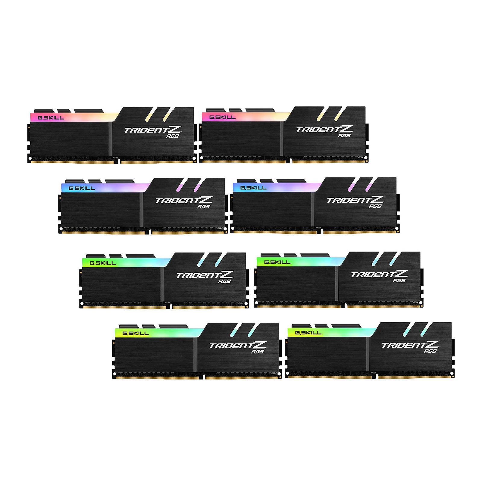 G.Skill Trident Z RGB 128 Go (8x 16 Go) DDR4 3600 MHz CL17