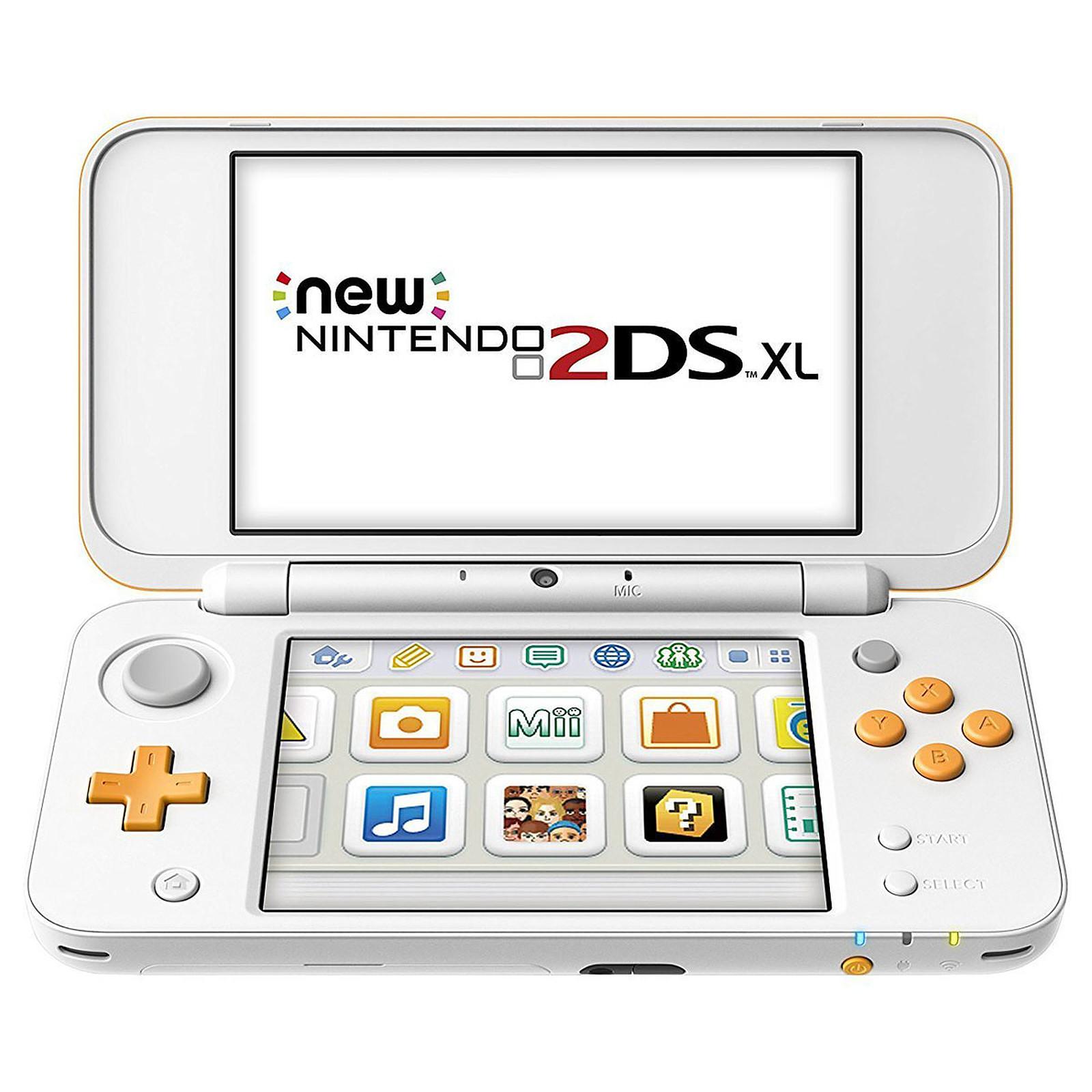 Nintendo New 2DS XL (Blanc/Orange)