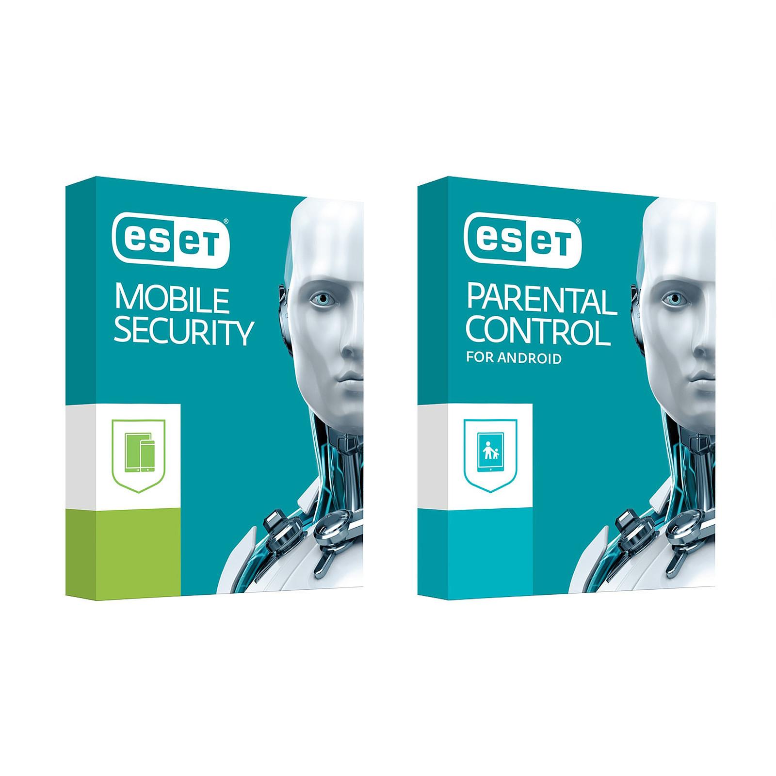 ESET Mobile Security Premium + Parental Control  - 1 an 3 postes (Android)