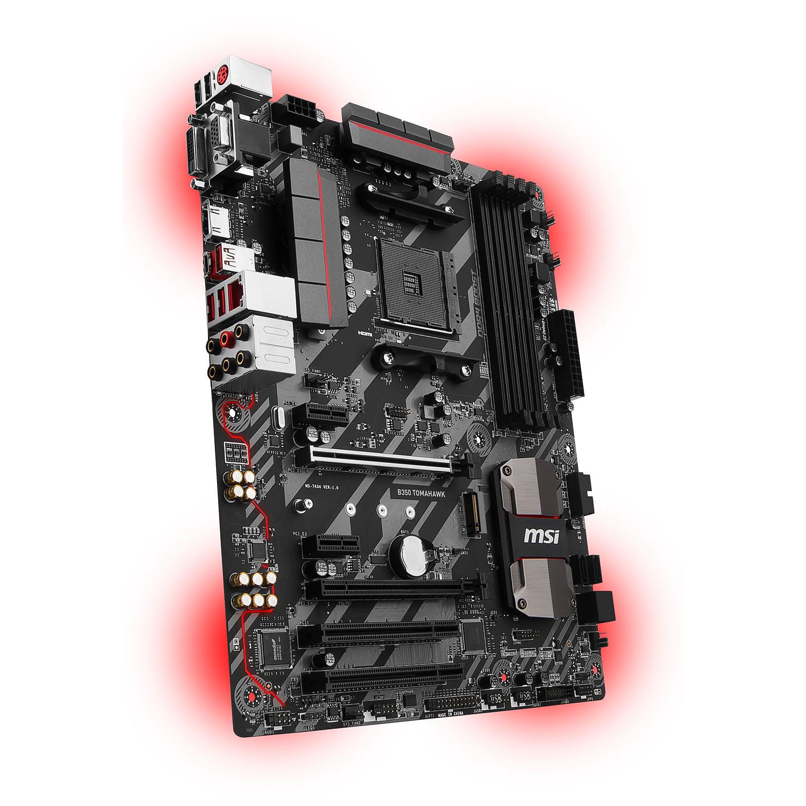 AMD Ryzen 7 1700X (3.4 GHz) + MSI B350 TOMAHAWK - Processeur AMD sur  LDLC.com 94dc21092b7f