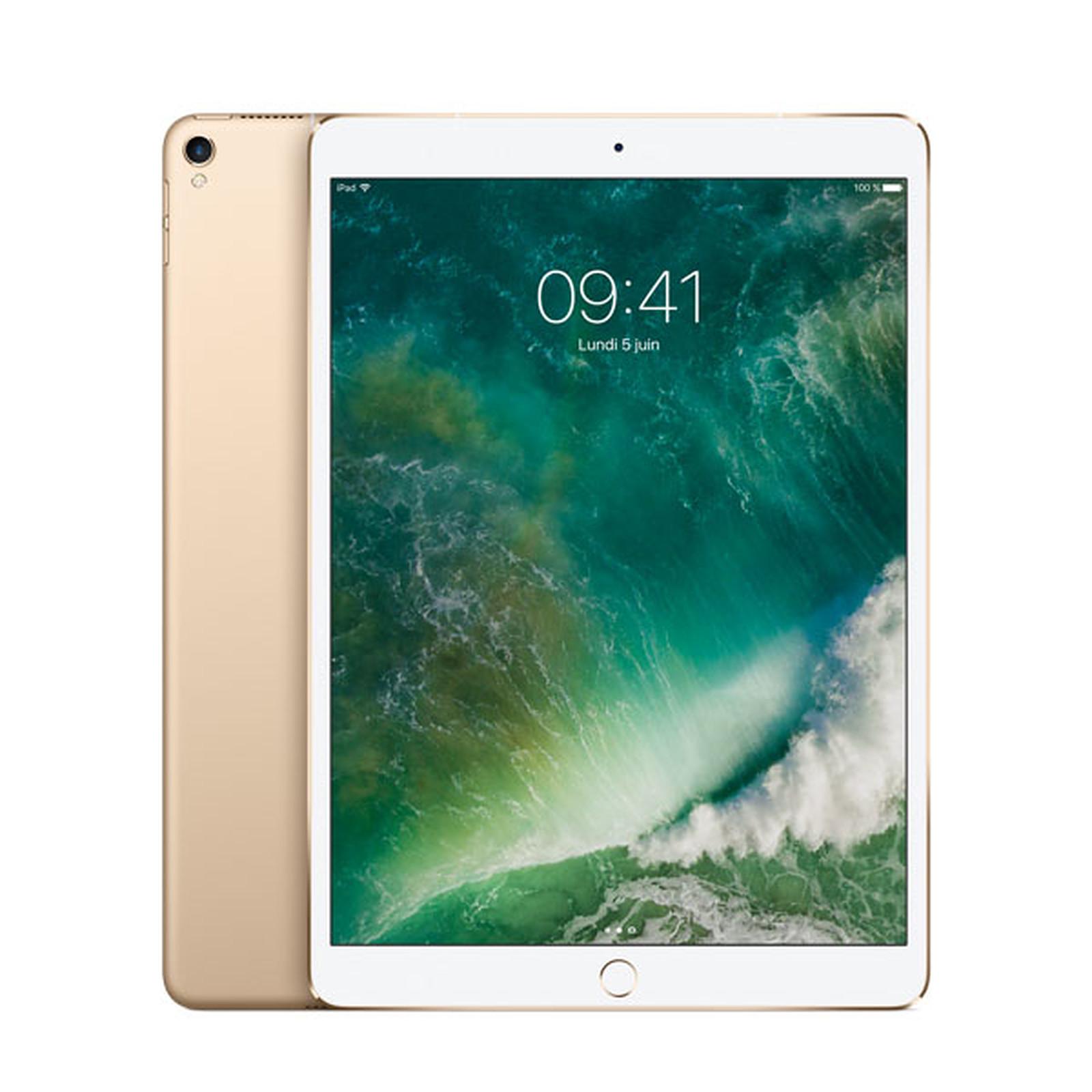 Apple iPad Pro 10.5 pouces 256 Go Wi-Fi + Cellular Or