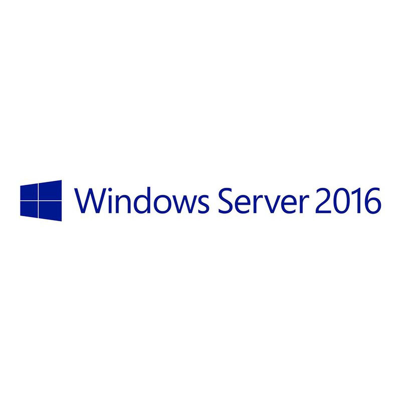Microsoft CAL User - Licence d'accès 5 utilisateurs pour Windows Server 2016