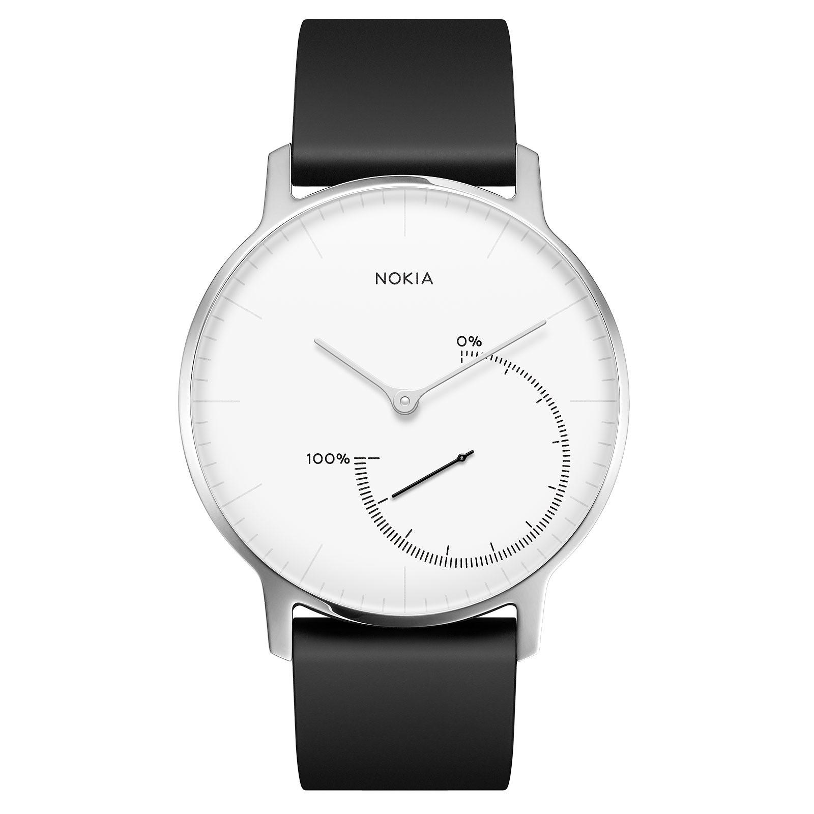 Withings Nokia Steel Noir/Blanc