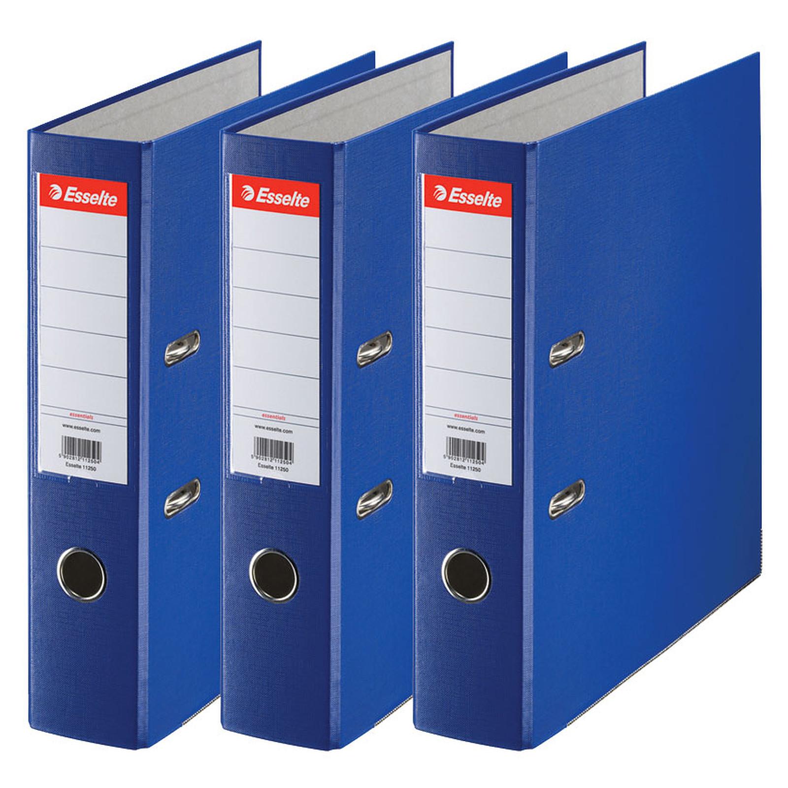 /Lote de 10/archivadores de palanca N /° 1/Power en PP 50/mm colores surtidos vivida Esselte 624162/