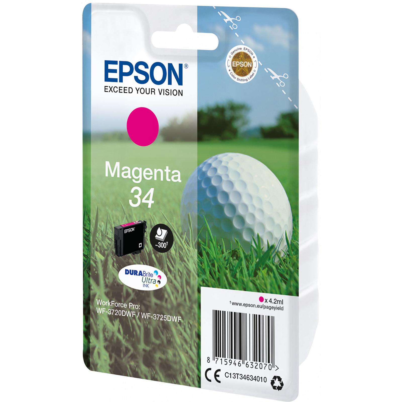 Epson Balle de Golf Magenta 34