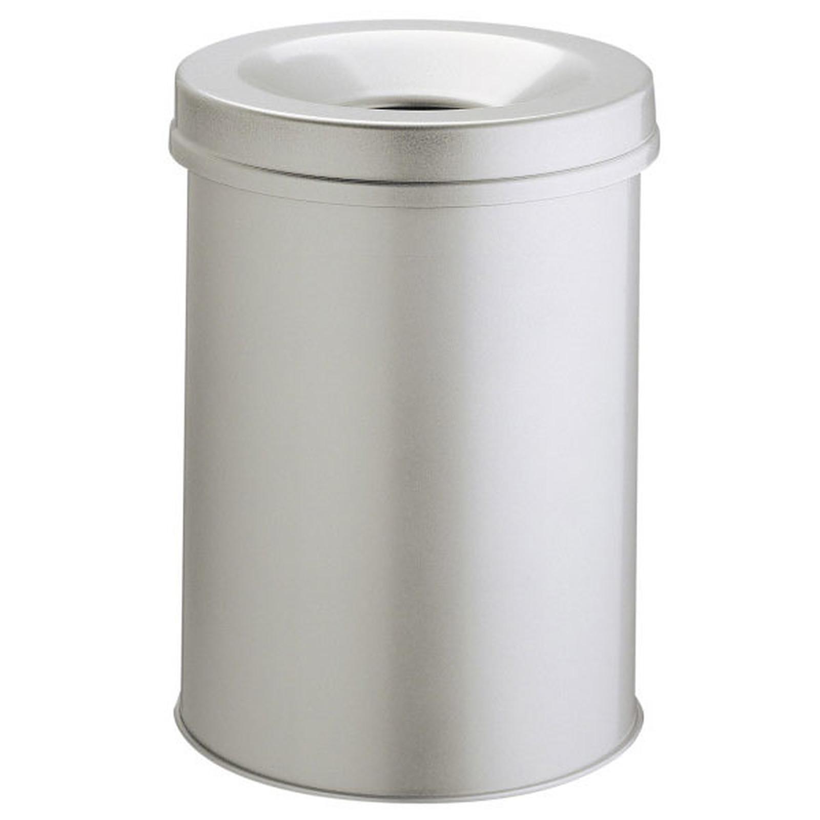 DURABLE Corbeille anti-feu 15 litres Gris