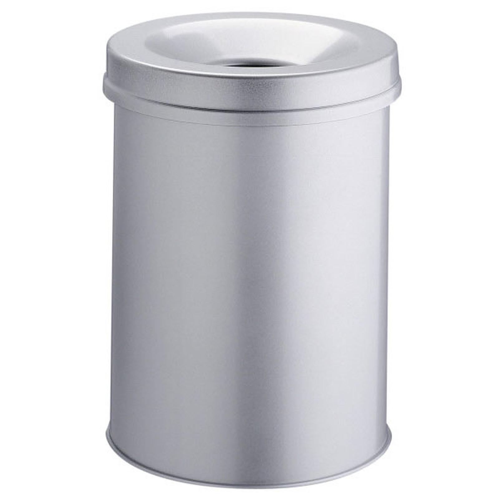 DURABLE Corbeille anti-feu 30 litres Gris
