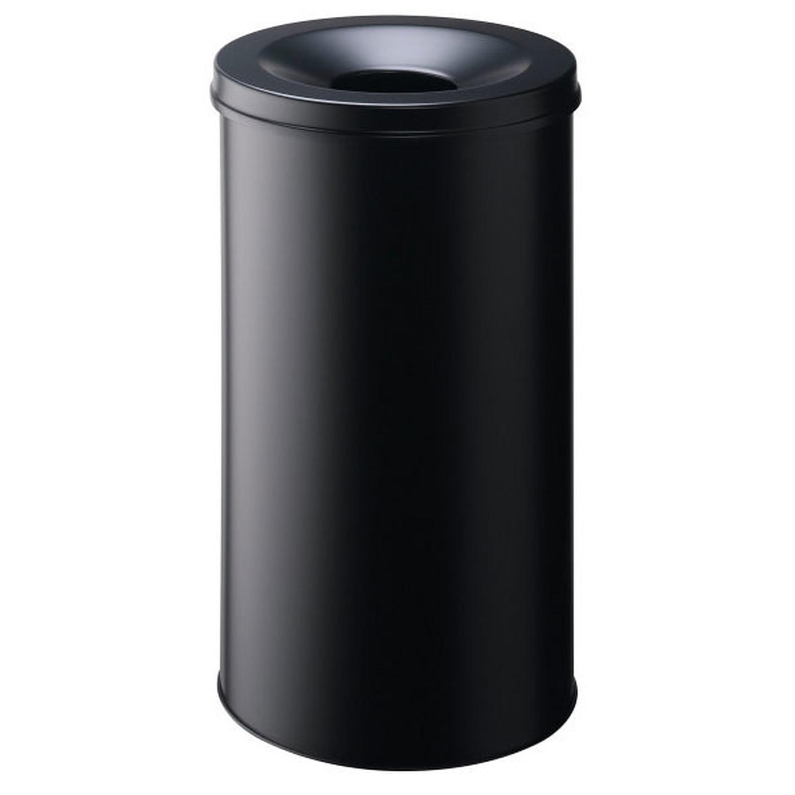 DURABLE Corbeille anti-feu 60 litres Noir