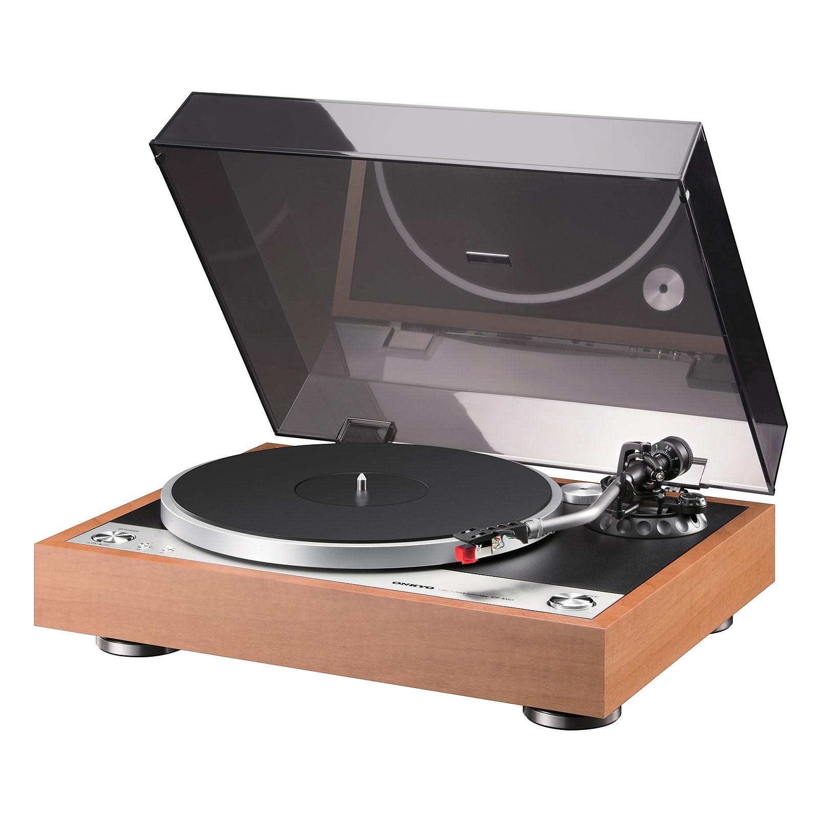 Quelle Marque De Platine Vinyle Choisir onkyo cp-1050 bois - platine vinyle onkyo sur ldlc