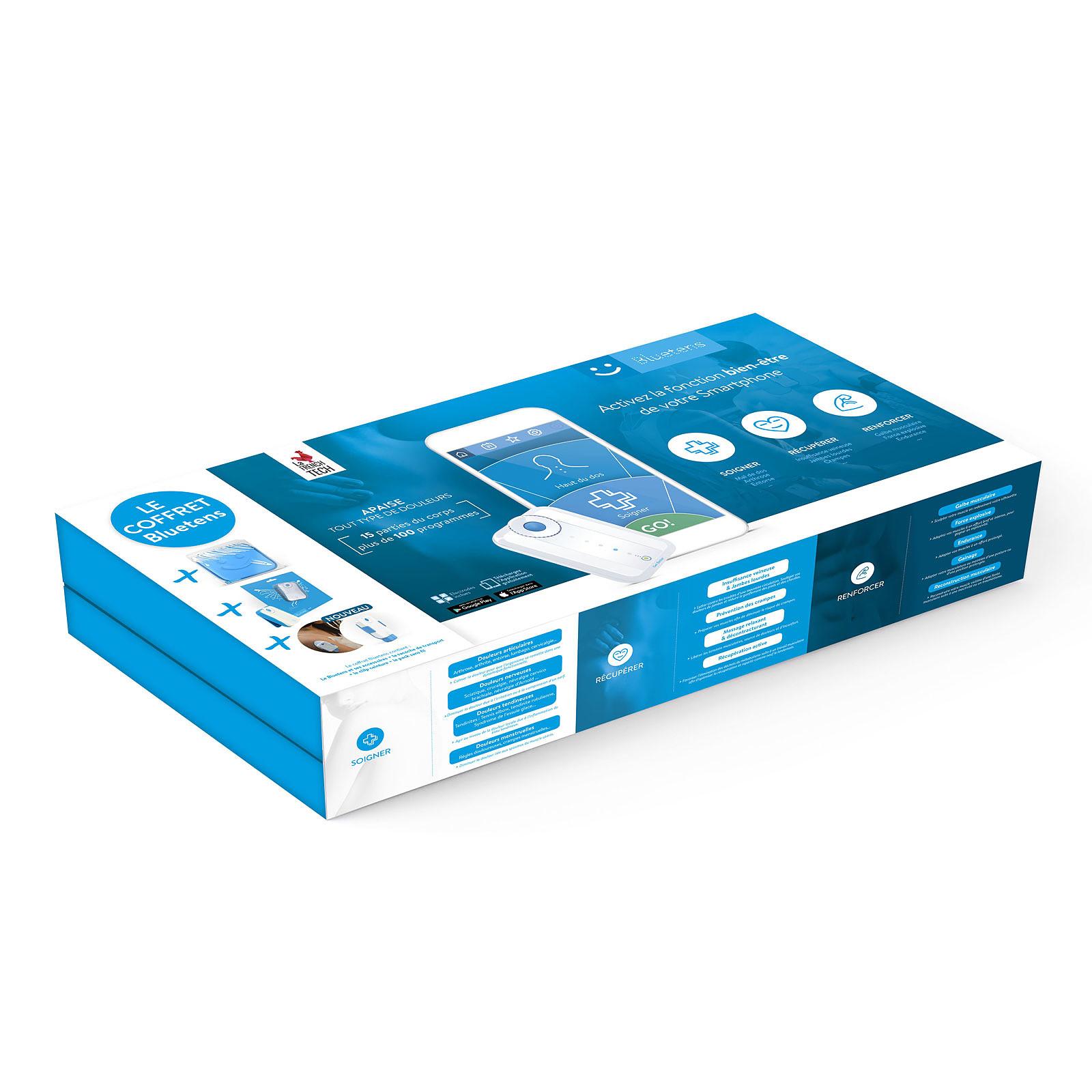 1 Bluetens Avec Ses Accessoires 1 Pack Sans Fil Bluetens Electrostimulation
