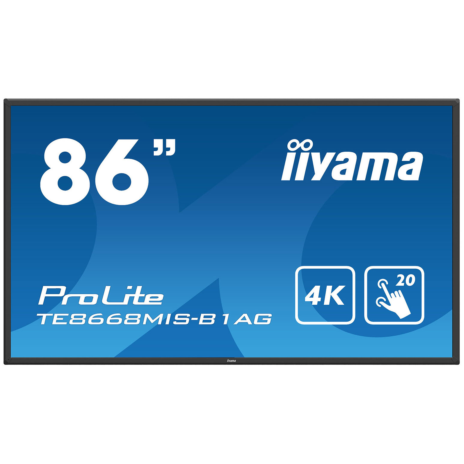 "iiyama 86"" LED - Prolite TE8668MIS-B1AG"