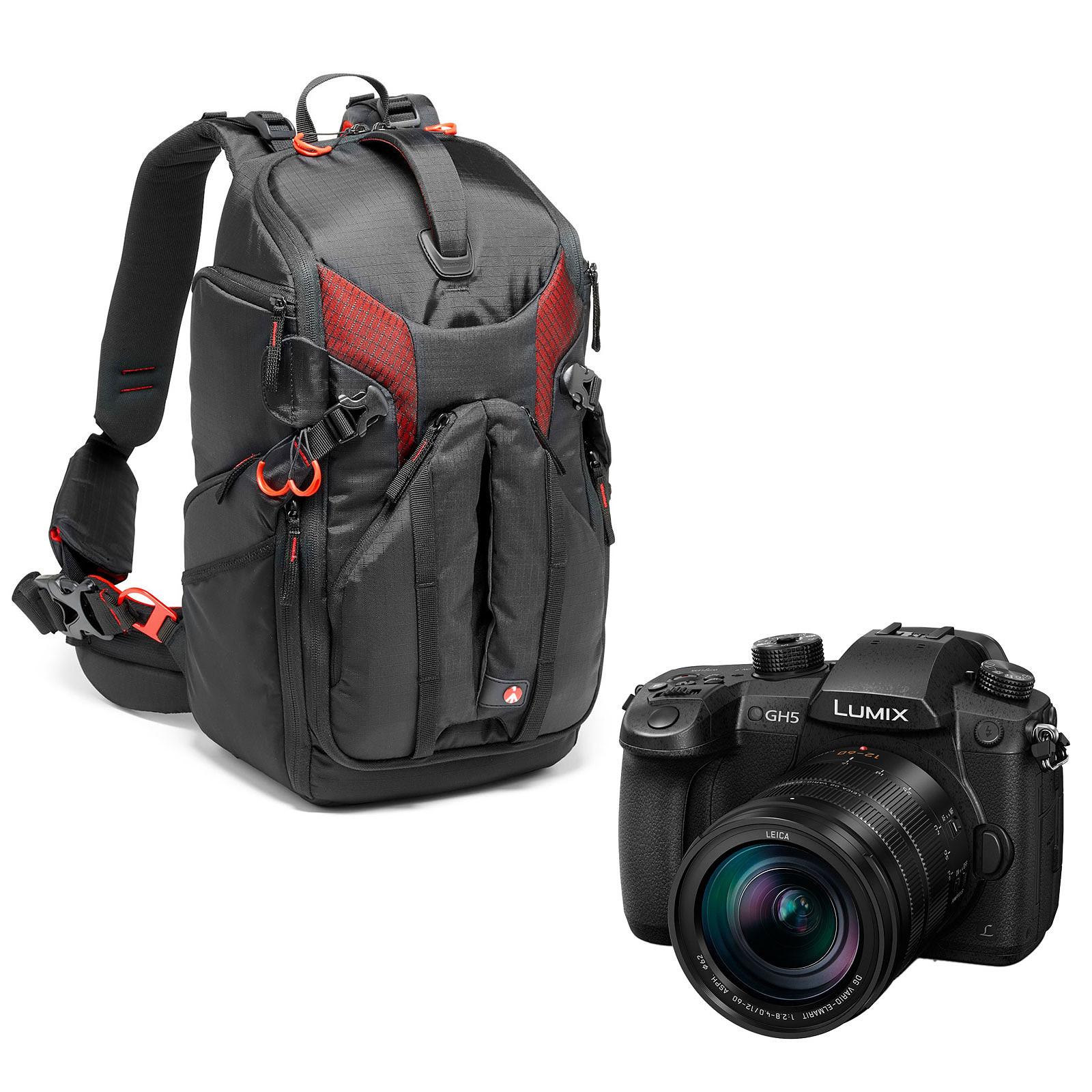 Panasonic DMC-GH5 + Leica 12-60 mm + Manfrotto Pro Light Sling MB PL-3N1-26