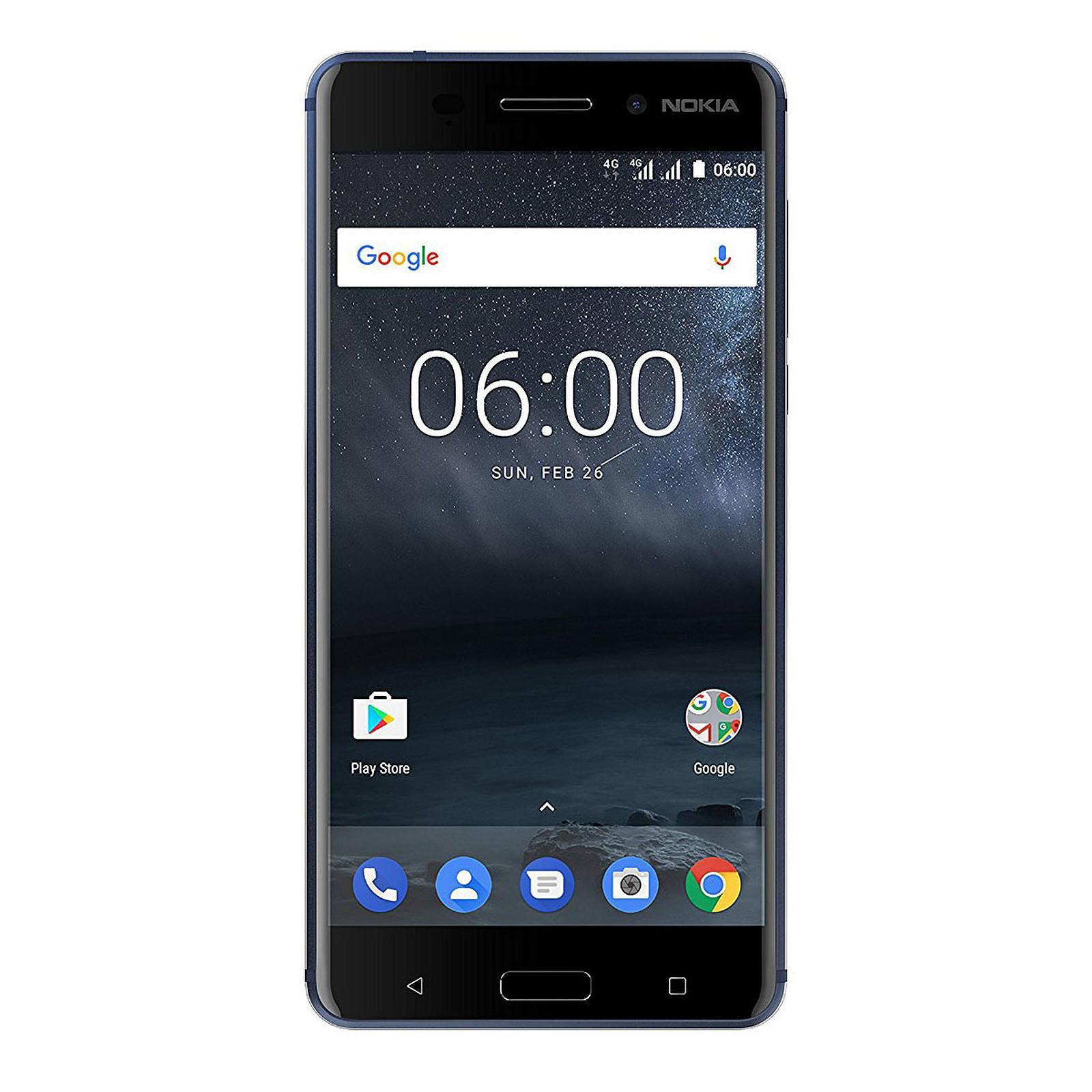 Nokia 6 Bleu Trempé