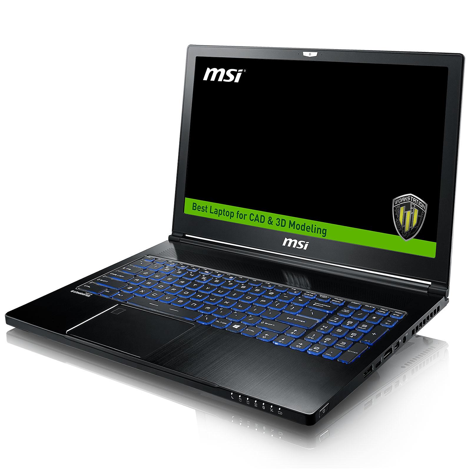 MSI WS63 7RK-802FR