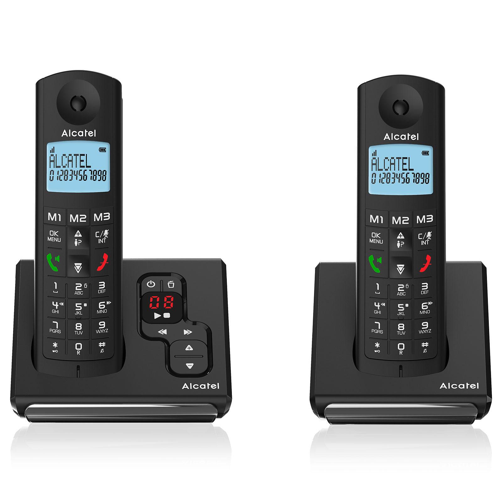 Alcatel F690 Voice Duo Noir