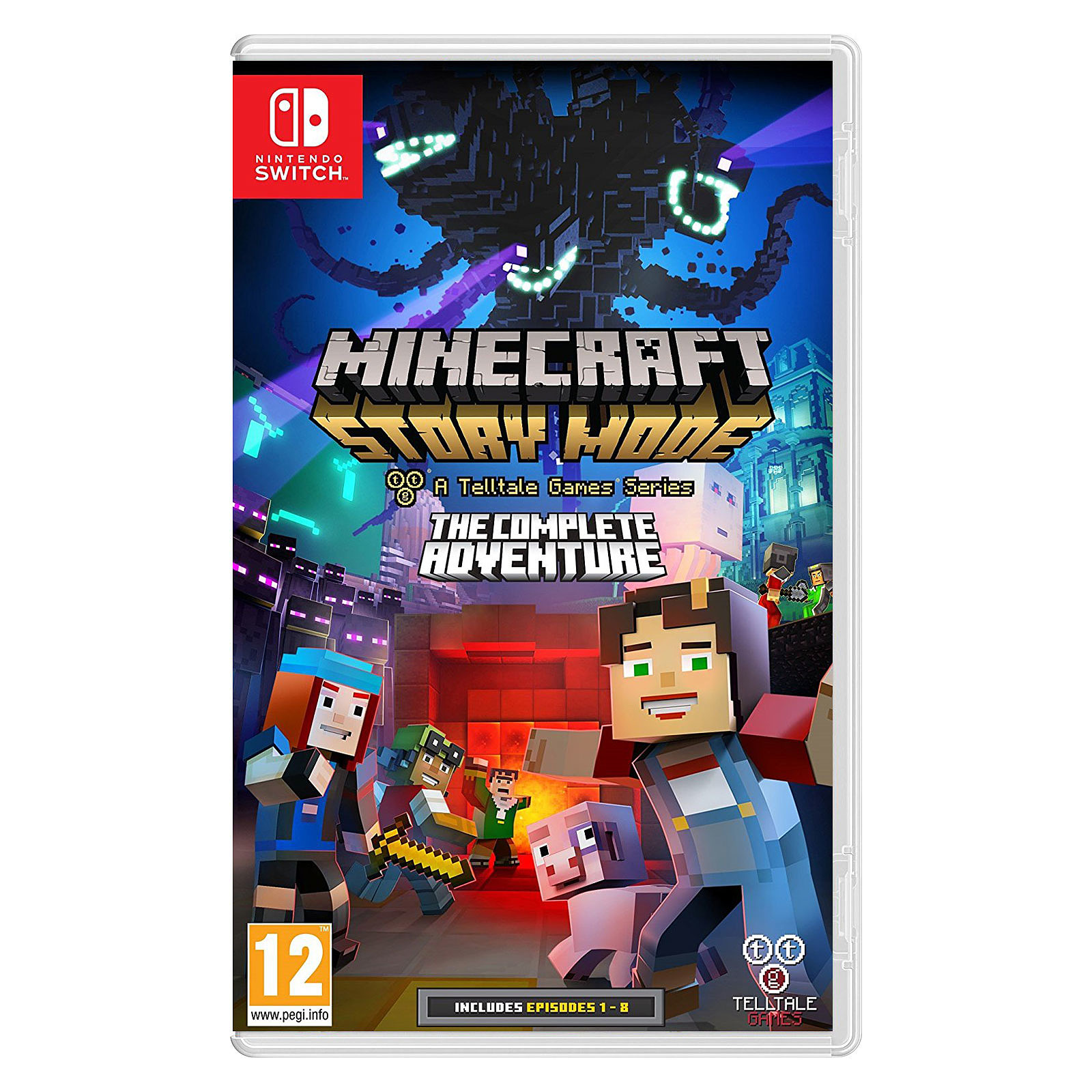 Minecraft Story Mode Switch Juegos Nintendo Switch Focus Home