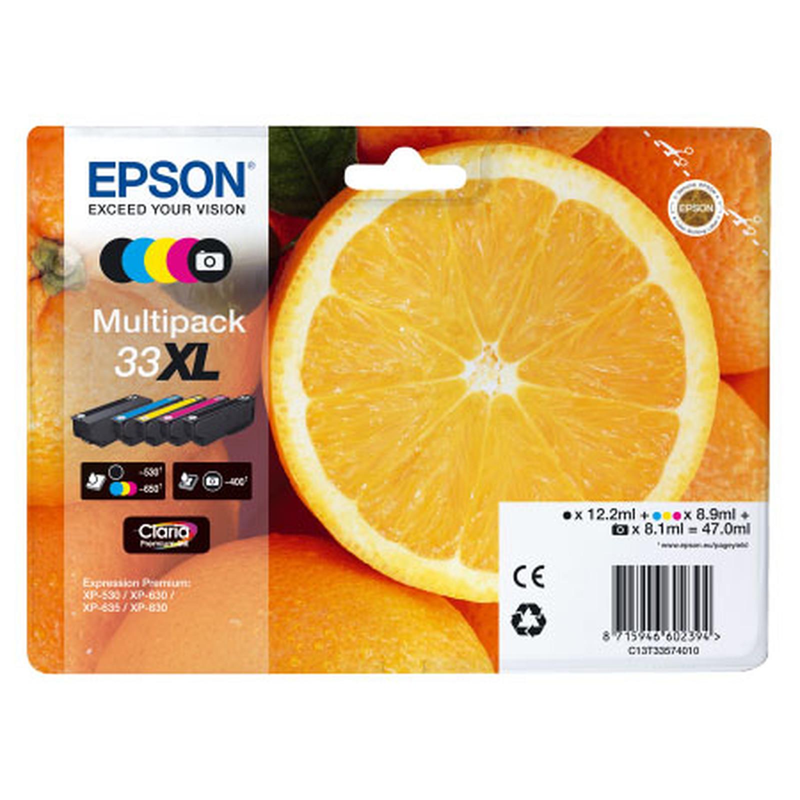 """Epson """"Oranges"""" 33 XL Multipack (C13T33574011)"""