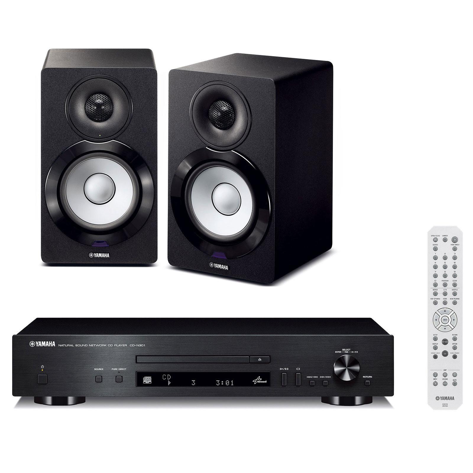 Yamaha CD-N301 Noir + NX-N500