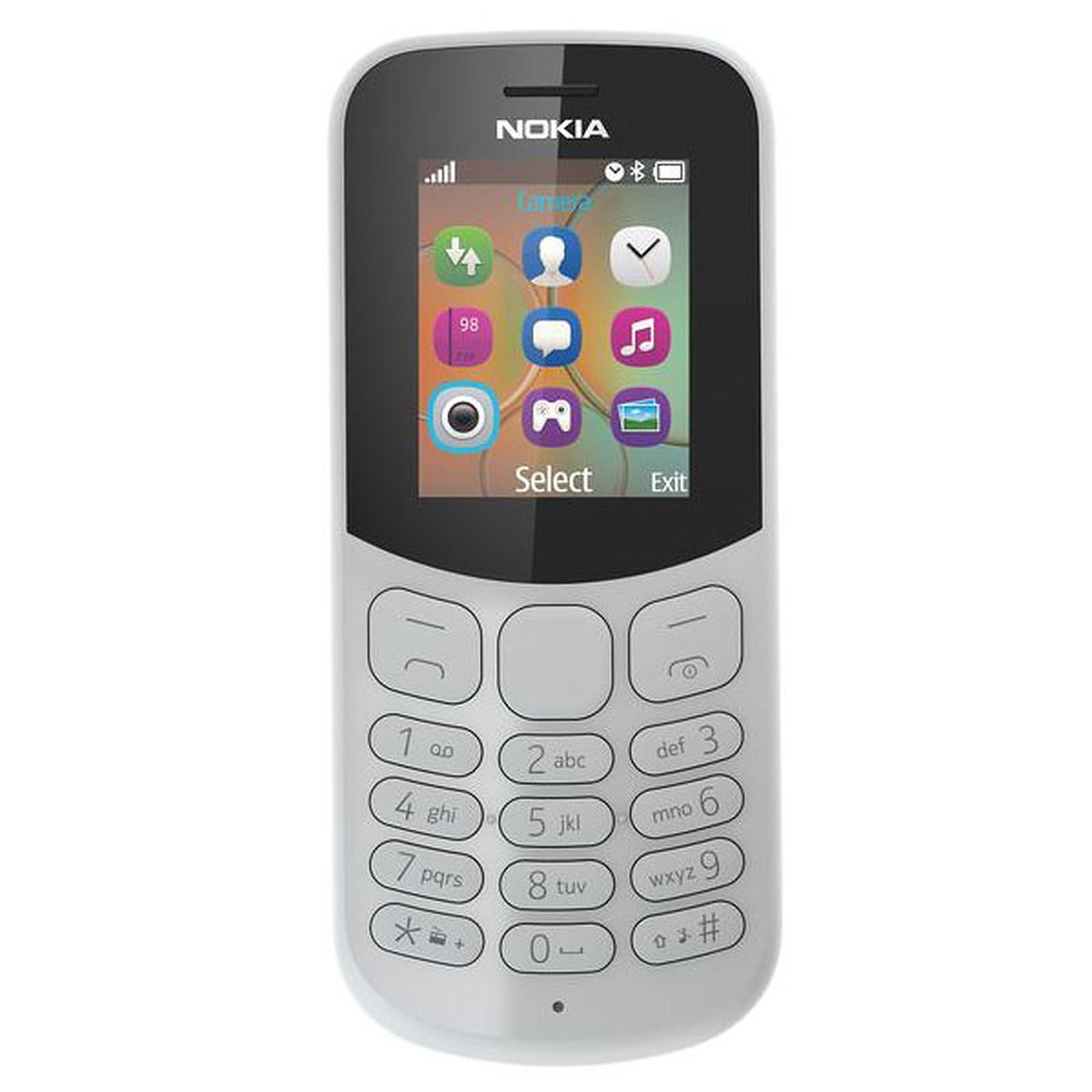 Nokia 130 Dual SIM Gris (TA-1017)