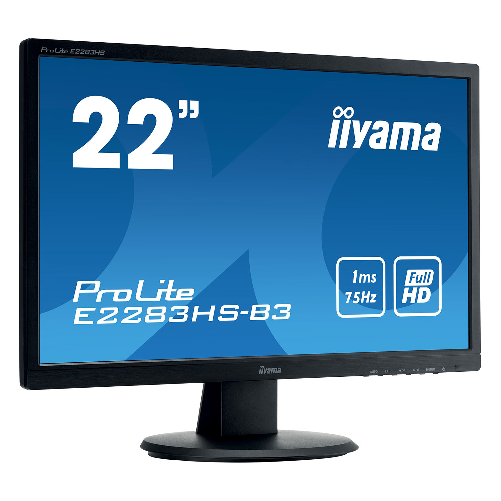 "iiyama 21.5"" LED - ProLite E2283HS-B3"