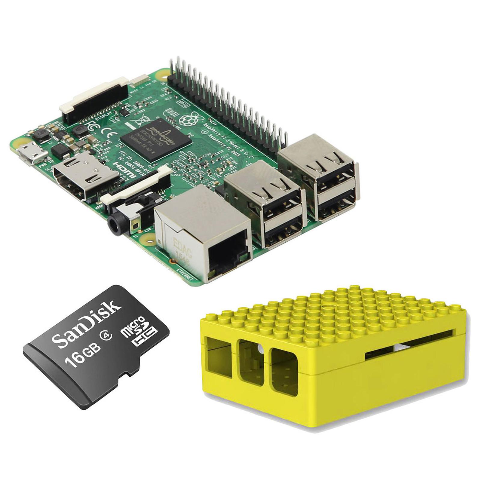 Raspberry Pi 3 Starter Kit (jaune)