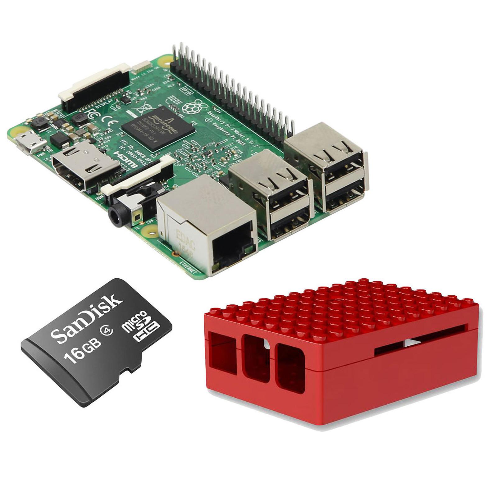 Raspberry Pi 3 Starter Kit (rouge)