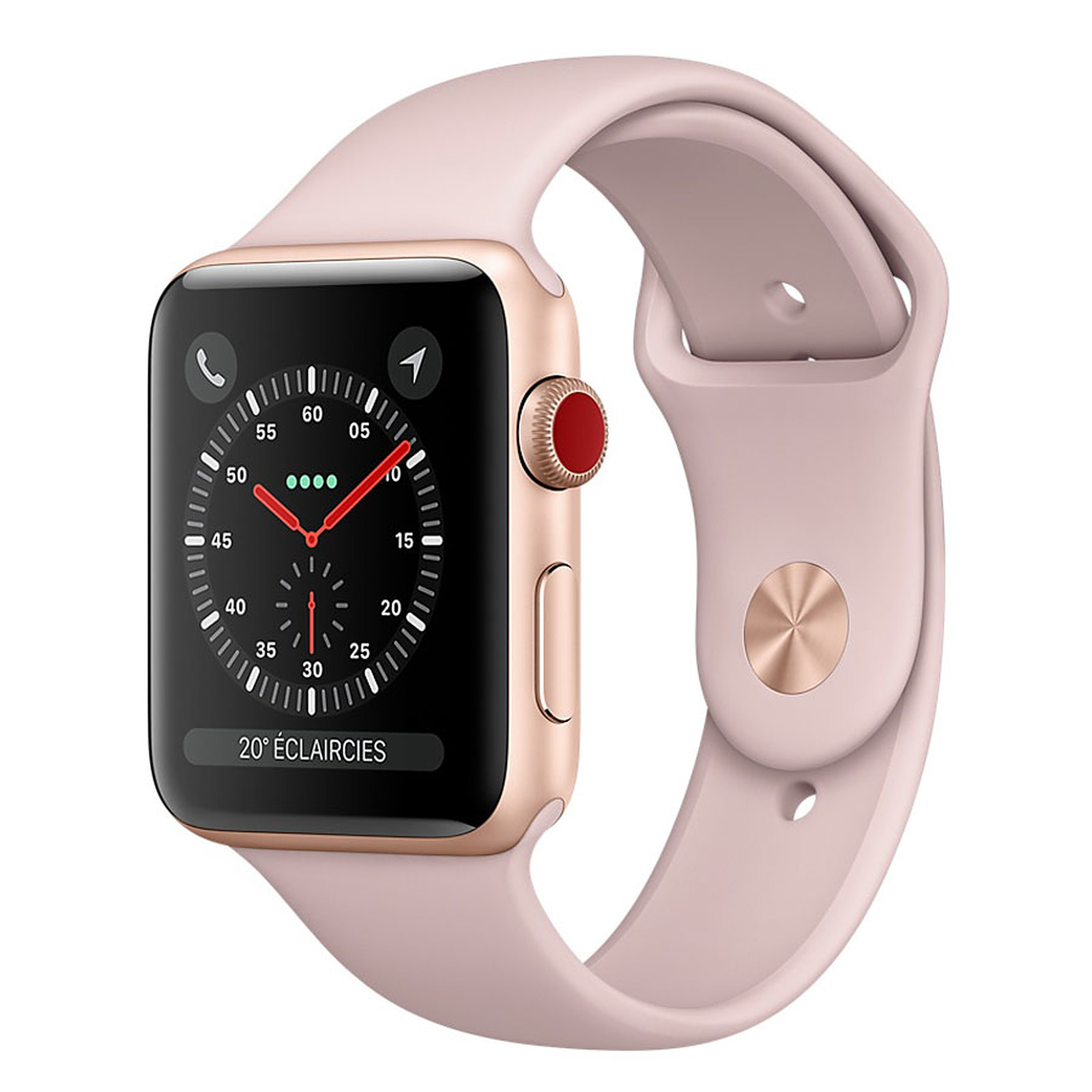 Apple Watch Series 3 GPS + Cellular Aluminium Or Sport Rose 38 mm