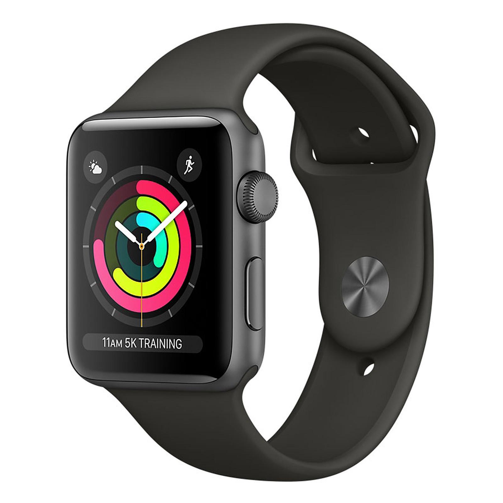 Apple Watch Series 3 GPS Aluminium Gris Sport Gris 38 mm