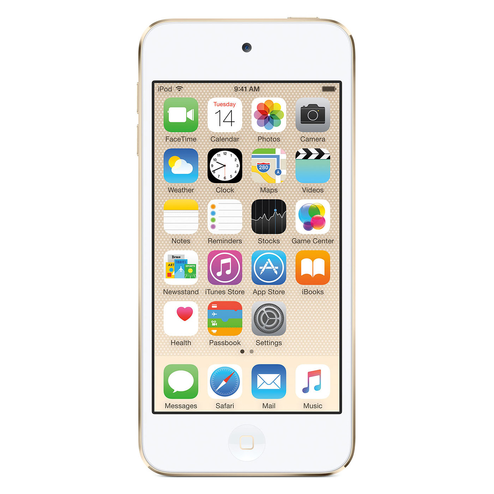 Apple iPod touch 128 Go Or