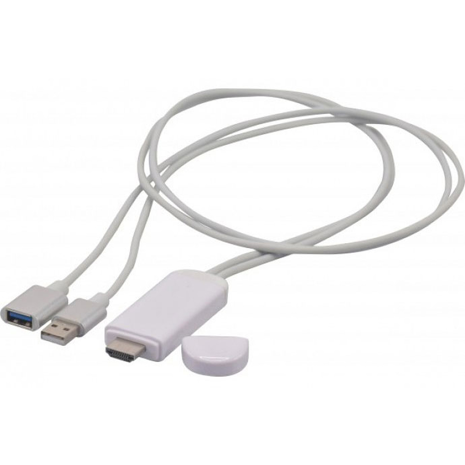 Cordon Usb Vers Hdmi 1 M Accessoires Apple G 233 N 233 Rique