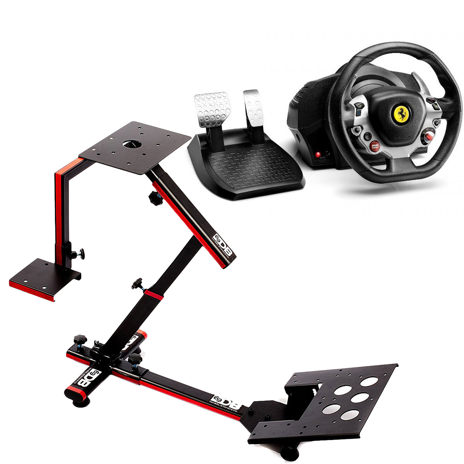 Thrustmaster TX Racing Wheel Ferrari 458 Italia Edition + 69DB Wheel Stand Evo OFFERT !