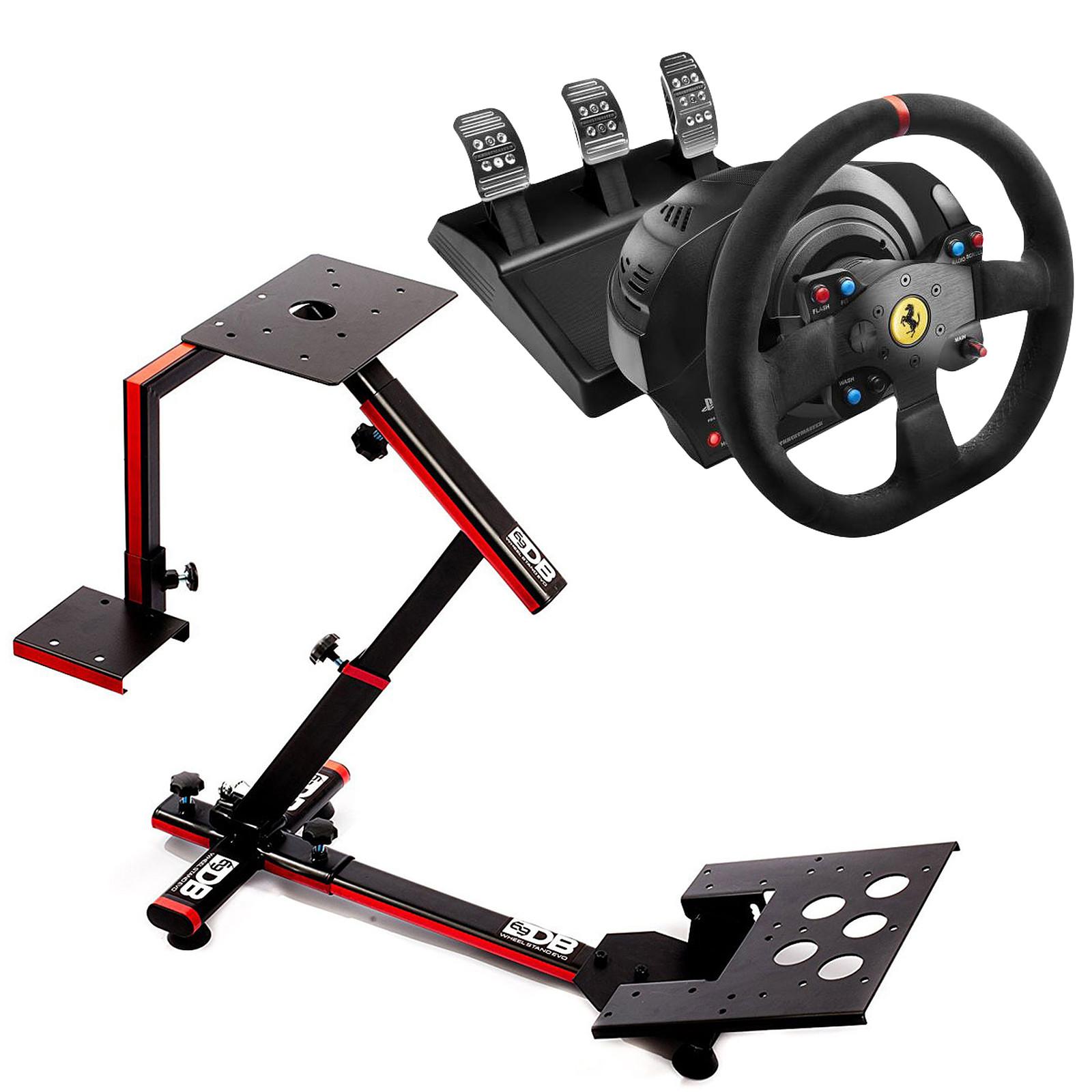 Thrustmaster T300 Ferrari Alcantara Edition + 69DB Wheel Stand Evo