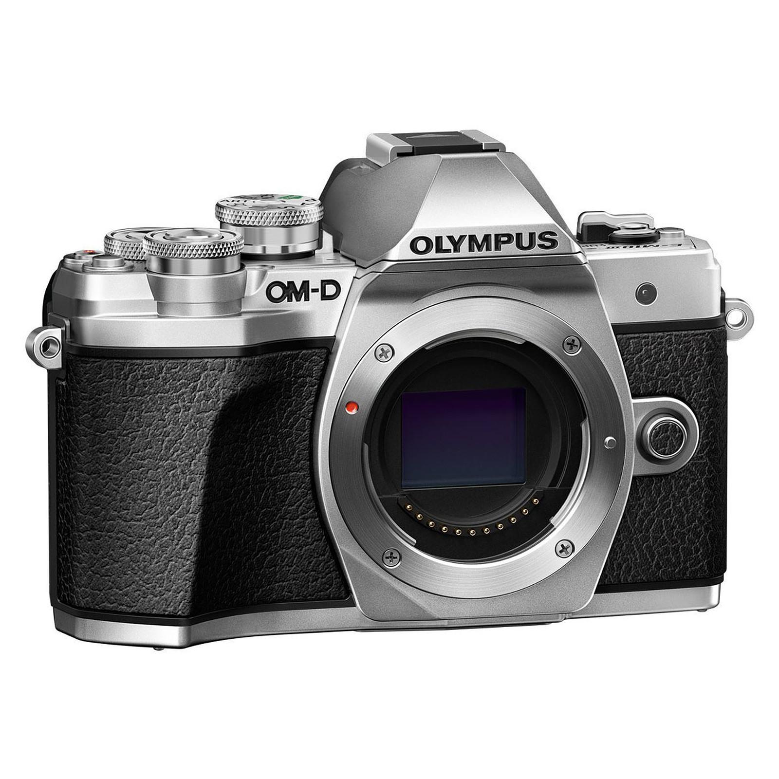 Olympus E-M10 MK III Argent (boîtier nu)